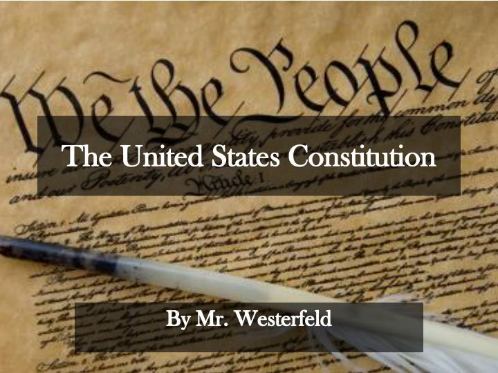 the united states constitution n.