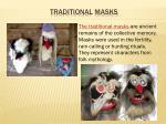 traditional masks