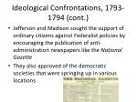 ideological confrontations 1793 1794 cont