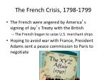 the french crisis 1798 1799