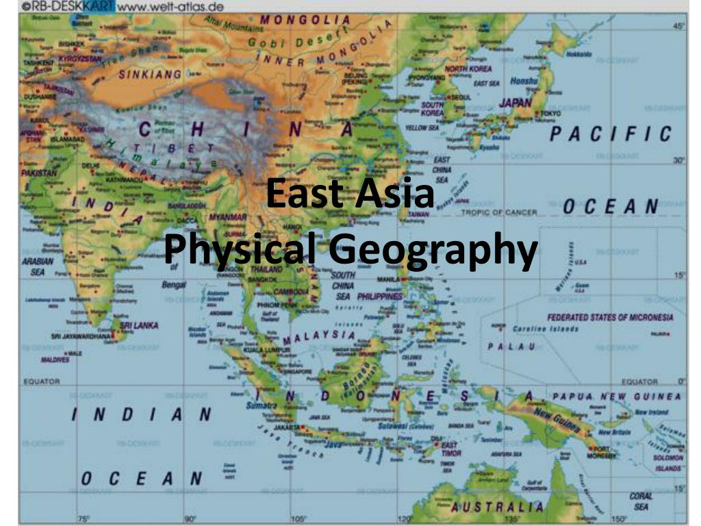 Image of: Ppt East Asia Physical Geography Powerpoint Presentation Free Download Id 2253486