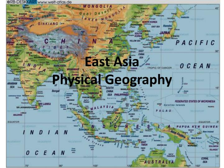 Human & physical geography.
