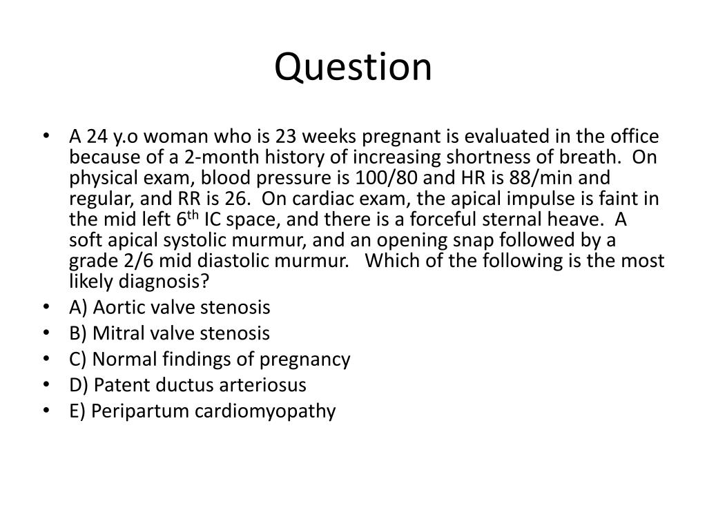 PPT - Cardiovascular Step 1 Review PowerPoint Presentation