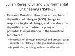 julian reyes civil and environmental engineering nspire