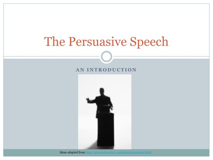 an introduction to the persuasive speech on stereotypes in todays society Class speech on social media 3 pages 784 words november 2014 saved essays save your essays here so you can locate them quickly.