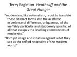terry eagleton heathcliff and the great hunger