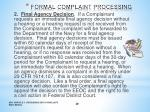 formal complaint processing8