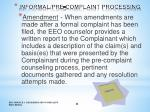 informal pre complaint processing4