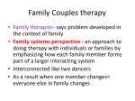 family couples therapy