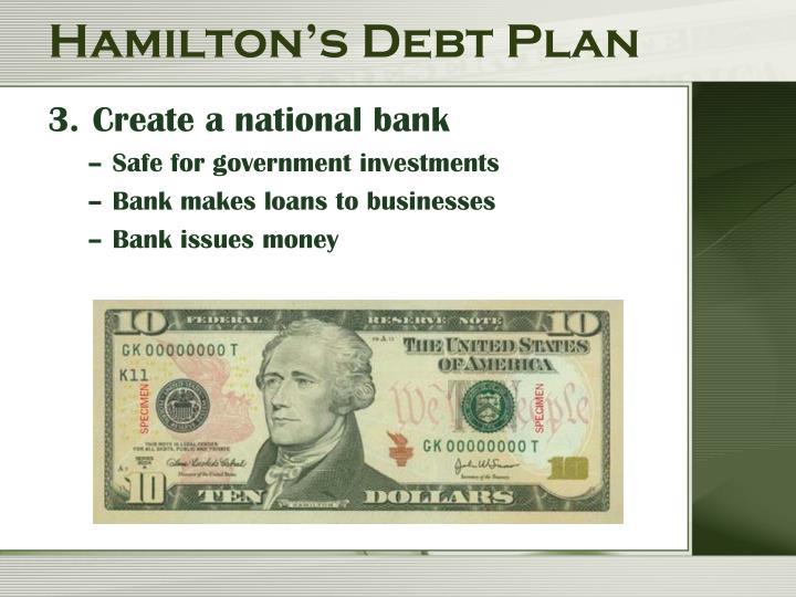 Hamilton's Debt Plan