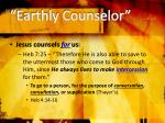 earthly counselor1