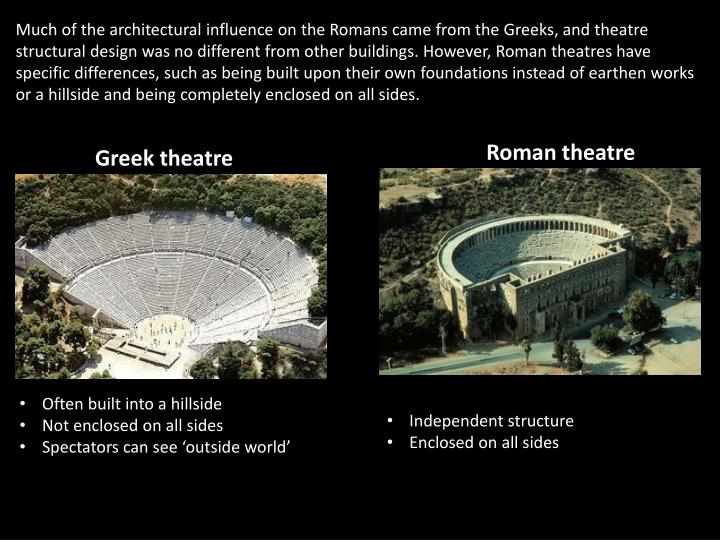 the difference between greek and roman