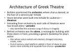 architecture of greek theatre