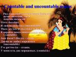 countable and uncountable nouns1