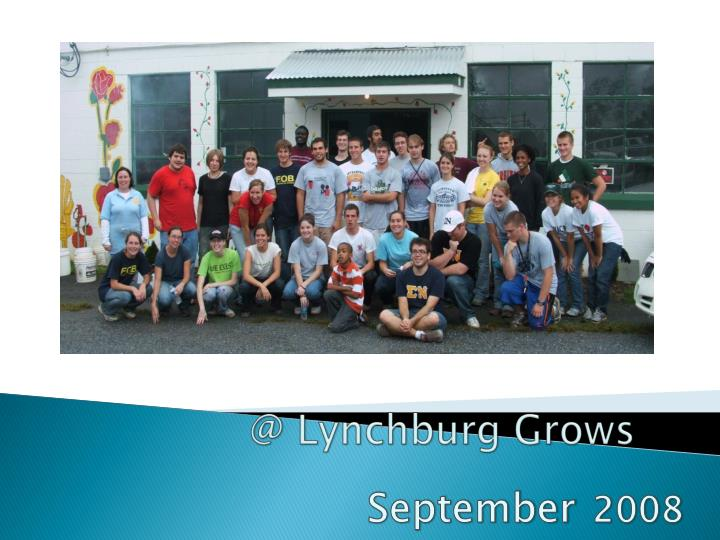 @ Lynchburg Grows