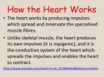 how the heart works