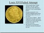 louis xvi failed attempt