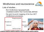 mindfulness and neuroscience