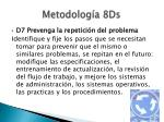 metodolog a 8ds5
