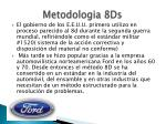 metodologia 8ds1