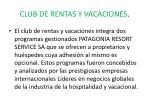 club de rentas y vacaciones