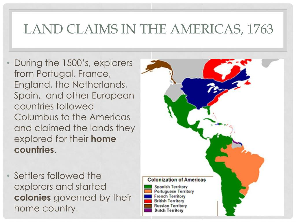 """PPT - Columbus claiming the """"New World"""" for Spain"""