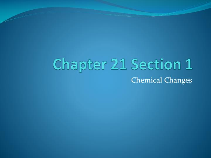 chapter 21 section 1 n.
