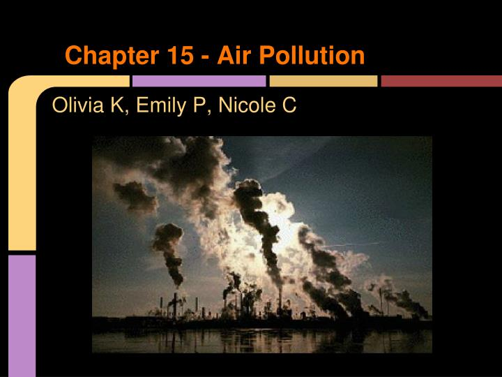 chapter 15 air pollution n.