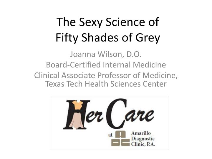 the sexy science of fifty shades of grey n.