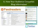 6 how your audience consumes blog information