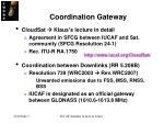 coordination gateway