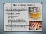 the chrism mass