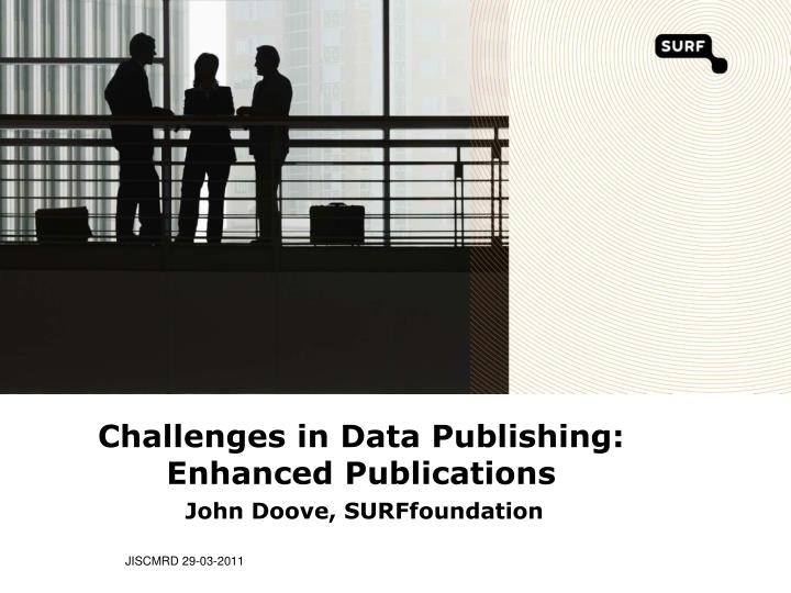 challenges in data publishing enhanced publications n.