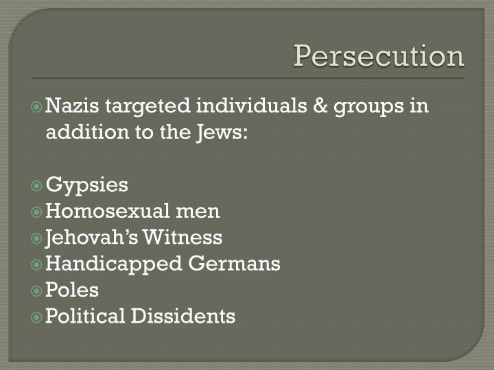 Persecution