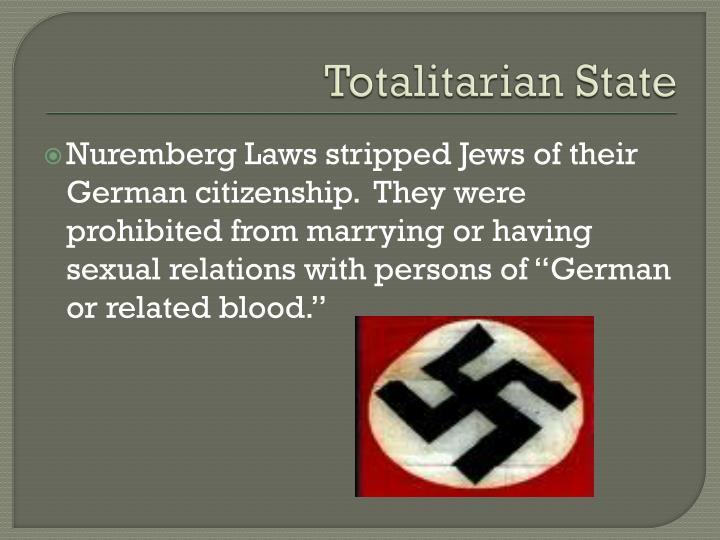 Totalitarian State
