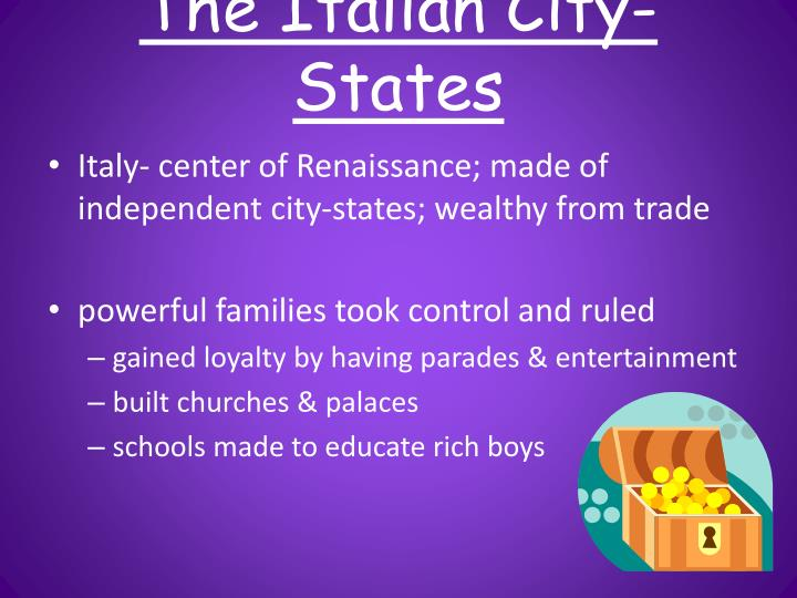 The italian city states
