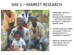 day 1 market research1
