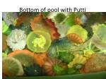 bottom of pool with putti