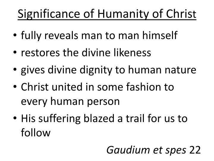 Significance of Humanity of Chris