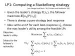 lp1 computing a stackelberg strategy