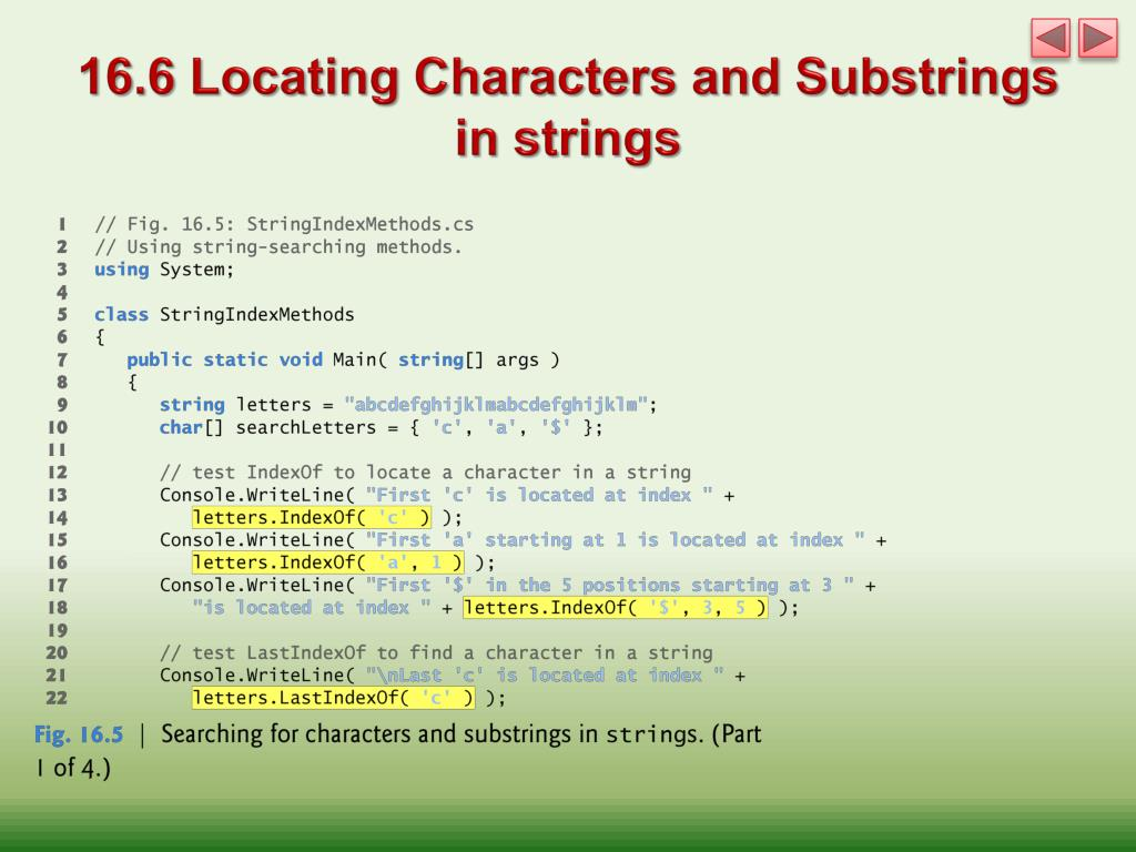 PPT - Chapter 16 Strings, Characters and Regular Expressions