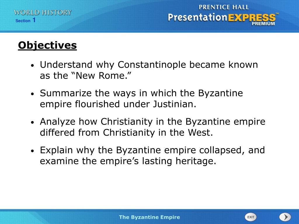PPT - Understand why Constantinople became known as the ...
