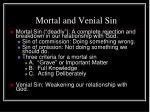 mortal and venial sin