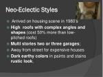 neo eclectic styles