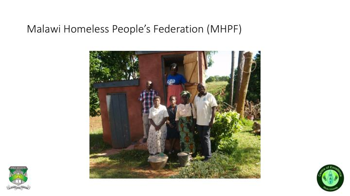 Malawi Homeless People's Federation (MHPF)