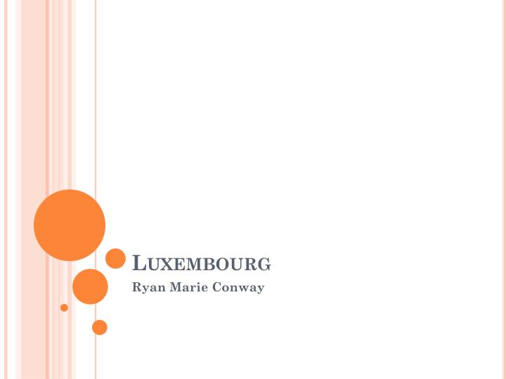 luxembourg n.