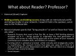 what about reader professor2
