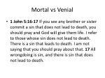 mortal vs venia l