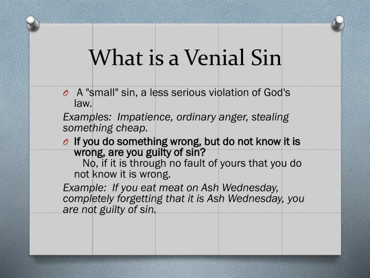 ppt what is a sin and a mistake powerpoint presentation