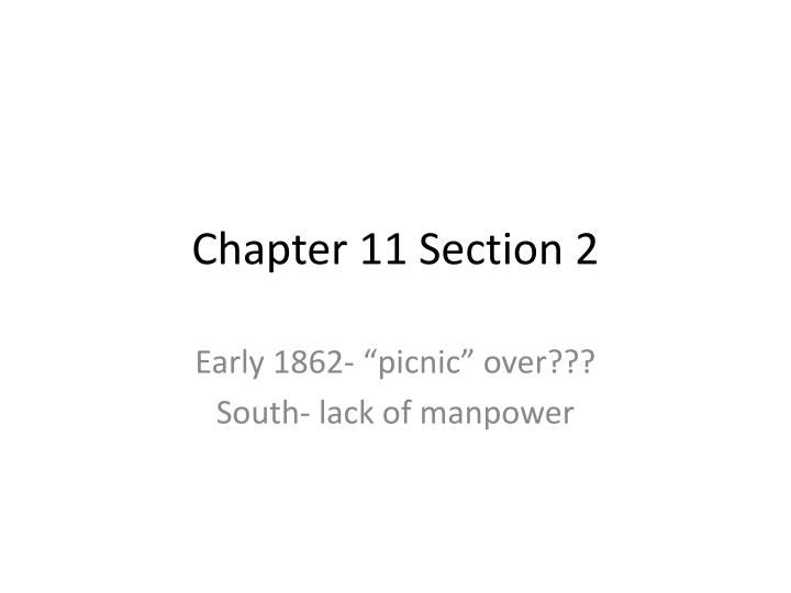 chapter 11 section 2 n.